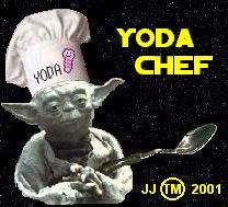 Yoda Chef Master Jedi/Chef